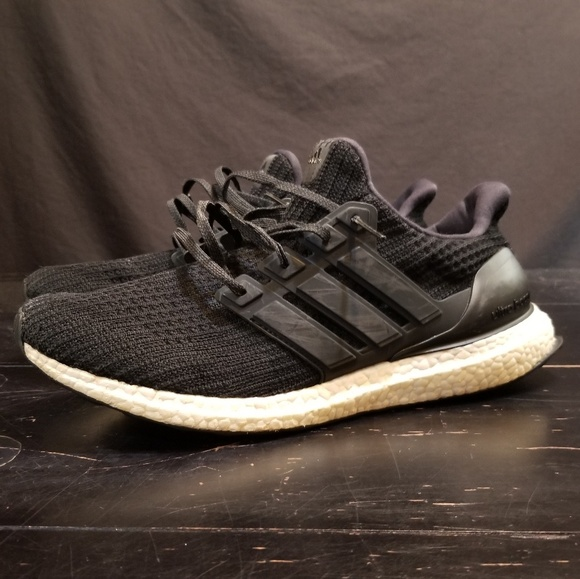 online retailer ca064 32266 adidas Other - Adidas Ultra Boost size 12.5, black, white, used